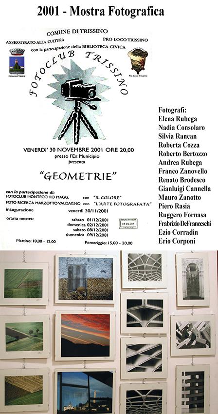 2001 - Mostra Fotografica Geometrie
