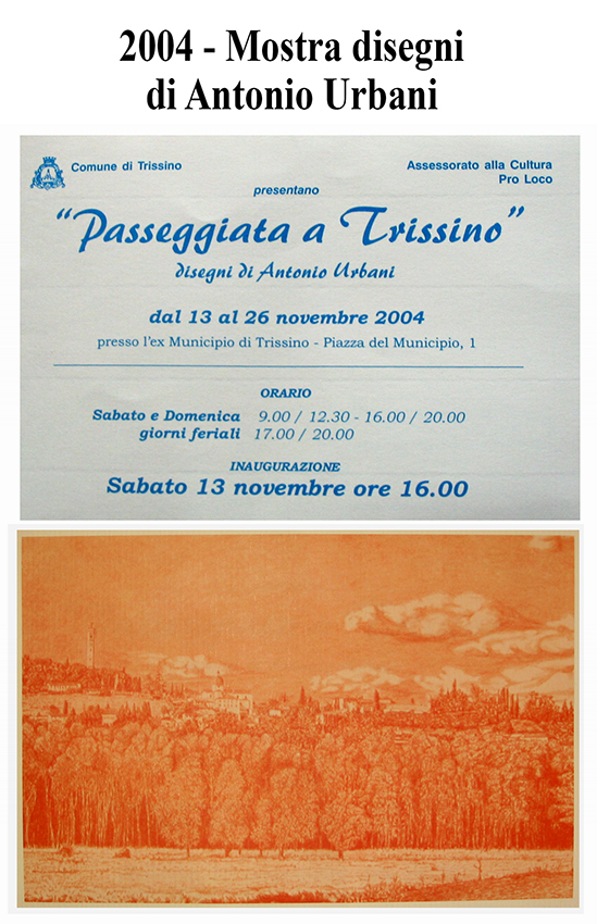 2004 - Disegni  di Antonio Urbani