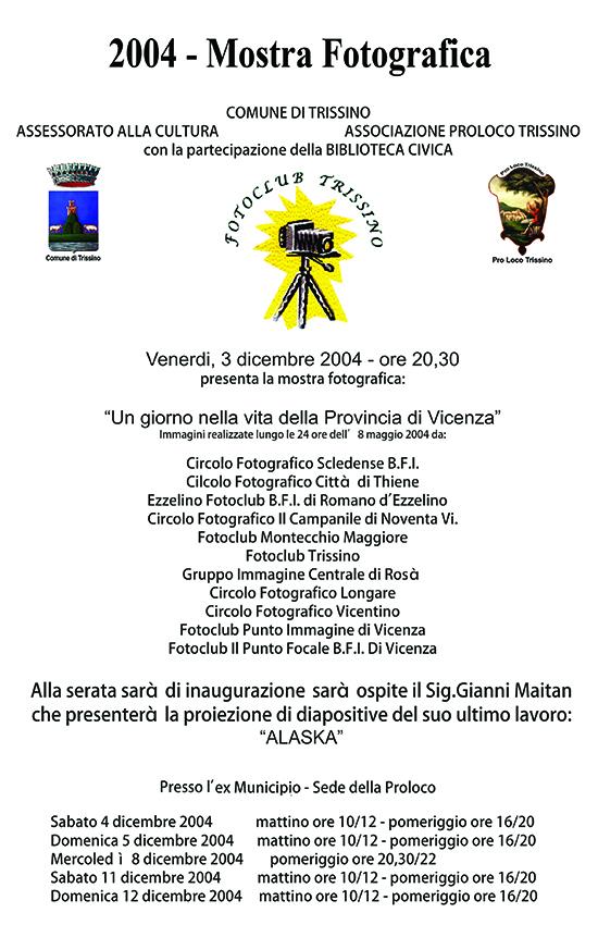 2004 - Mostra Fotografica