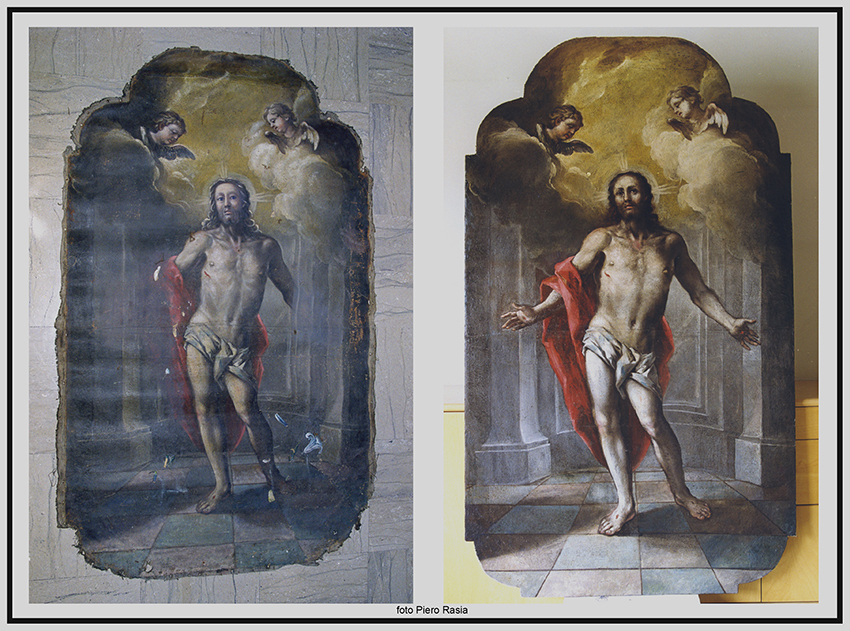 2004-Tela Cristo Risorto