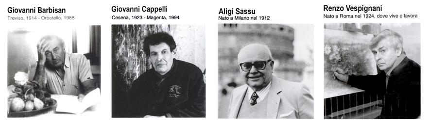 1990 - 4 Pittori