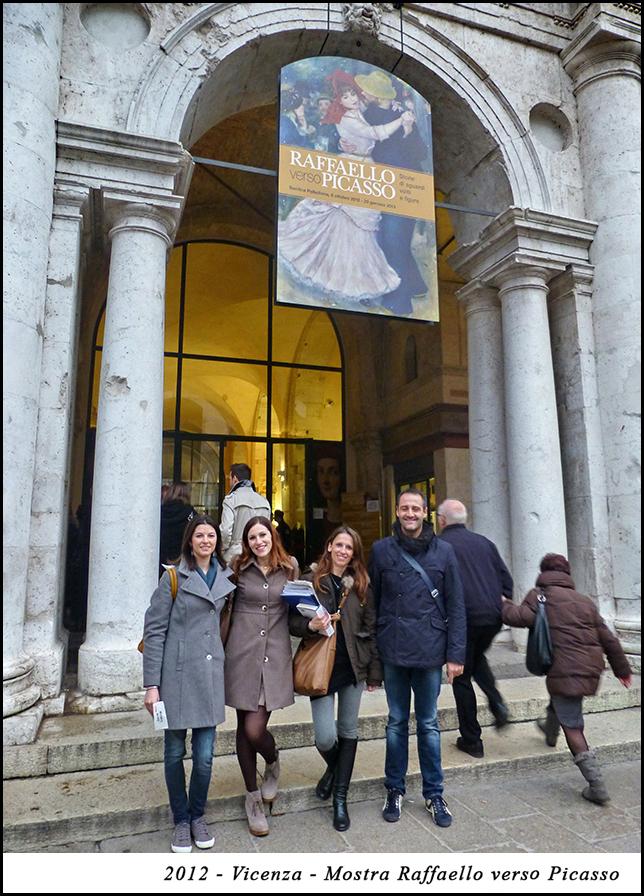 2012 - Vicenza - Mostra  Raffaello verso Picasso