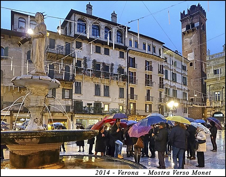 2014 - Verona - Mostra verso Monet